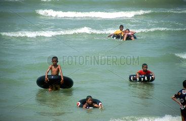 Thailand  Pattaya  Jomtien Beach Kinder