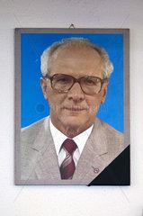 Erich Honecker  Osthotel Ostel