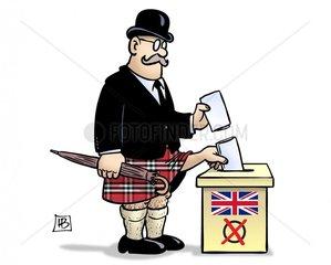 UK-Schottland-Wahl