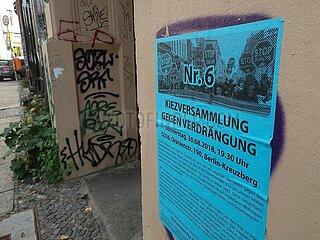 Organisierter Protest gegen Gentrifizierung