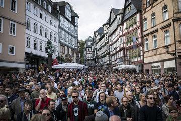 Martin Schulz in Marburg
