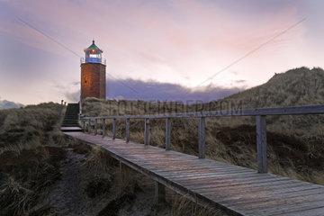 Alter Leuchtturm  Kampen  Sylt  Nordfriesland  Schleswig-Holstein  Deutschland  Europa