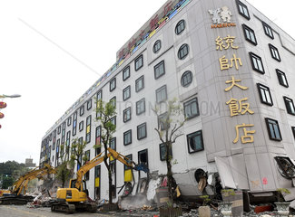 CHINA-HUALIEN-EARTHQUAKE-RESCUE (CN)