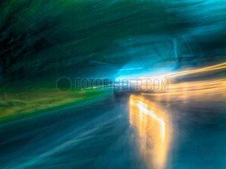 Verkehr im Regen 3