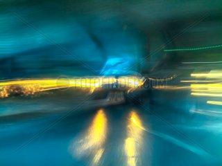 Verkehr im Regen 5