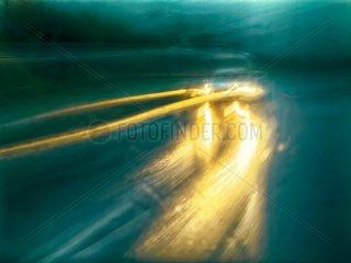 Verkehr im Regen 4