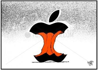 Apple mit groesstem Verlust