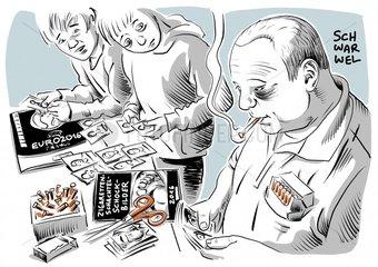 Schockbilder auf Zigarettenschachteln schocken kaum
