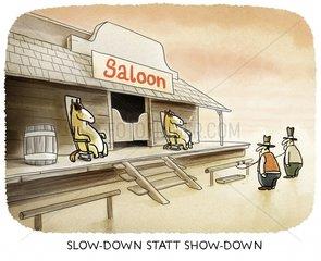 slowdown - showdown