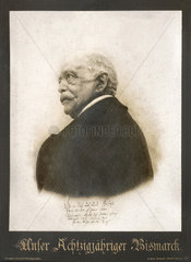 Otto von Bismarck  80  Portraet  1895