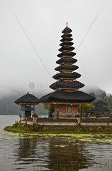 PURU ULUN DANU BRATAN is a 17th Century Hindu and Buddhist Temple Complex on DANAU BRATAN LAKE
