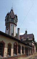 Beelitz  Deutschland  Gebaeude des Heizkraftwerk auf dem Gelaende der ehemaligen Beelitz-Heilstaetten