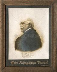 Otto von Bismarck  80  Wandbild  1895