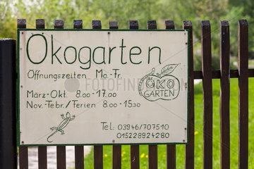 Oekogarten Quedlinburg Oeffnungszeiten