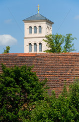 Liebenwalde  Brandenburg  Turm der Schinkelkirche in Liebenwalde