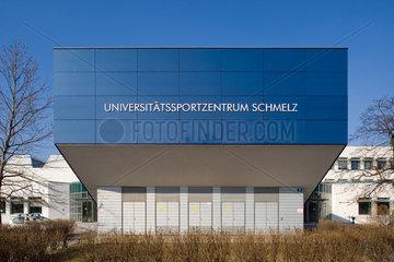 Wien  Oesterreich  Universitaetssportzentrum Schmelz im 15. Wiener Gemeindebezirk Rudolfsheim-Fuenfhaus