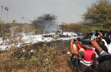 INDIA-KARNATAKA-IAF FIGHTER AIRCRAFT CRASH