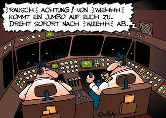 Airline-Cartoon Nr. 187