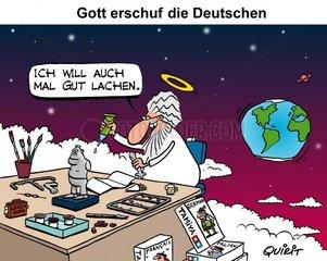 und Gott erschuf die Deutschen