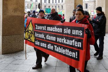 Berlin  Deutschland  Demo gegen TTIP und Agrarpolitik