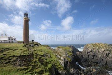 Der Leuchtturm am Butt of Lewis  Isle of Lewis