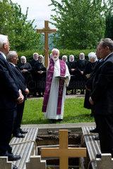 Heitersheim  Deutschland  Beerdigungszeremonie einer verstorbenen Mitschwester