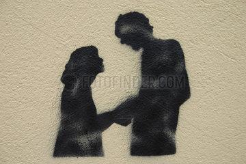 Paar Graffiti