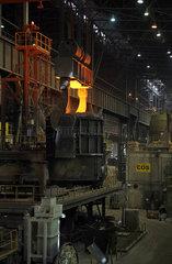 Warschau  Polen  im Stahlwerk ArcelorMittal Warszawa