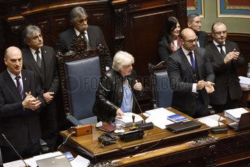 URUGUAY-MONTEVIDEO-POLITICS-NEW VICE PRESIDENT