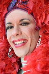Berlin  Deutschland  Transvestit Chicago Rose