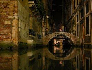 Venedig Bruecken Mitternacht