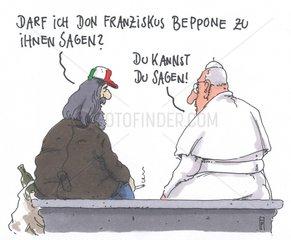 Don Franziskus und Beppone