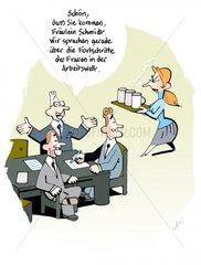 Frauen in der Arbeitswelt