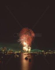 Feuerwerk  Sydney  Australien