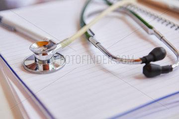 Stethoskop als medizinisches Werkzeug