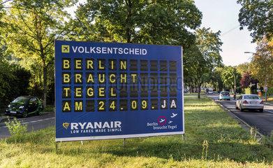 Ryanair Wahlplakat
