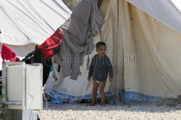CYPRUS-REFUGEE-SYRIA-CAMP