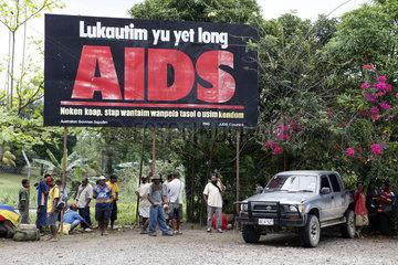 HIV Aids Plakat
