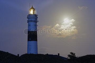 Leuchtturm Rotes Kliff  bei Kampen  Insel Sylt  Schleswig-Holstein  Deutschland  Europa