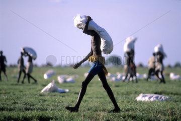 Famine in Sudan and Sahelian Zone - Hungersnot im Sudan