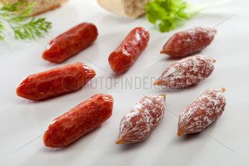 Riedlingen  Deutschland  Salami Minis
