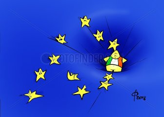 Italiens Neuverschuldung
