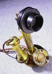 Hamburg  Deutschland  antikes Telefon