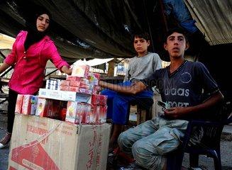 SYRIA-DEIR AL-ZOUR-POST-SIEGE DAILY LIFE