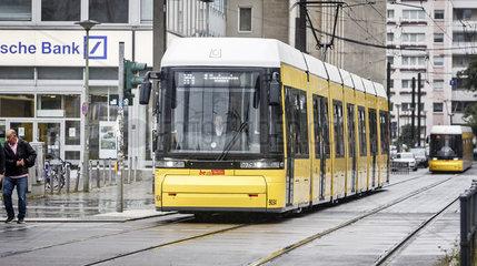 Strassenbahn der BVG