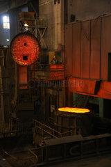 Warschau  Polen  die VPL-Anlage im Stahlwerk ArcelorMittal Warszawa