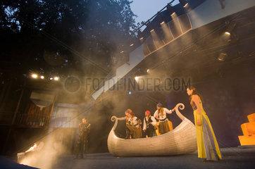 Zinnowitz  Deutschland  Vineta-Festspiele auf der Ostseebuehne Zinnowitz