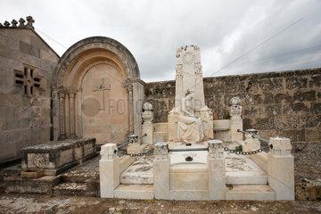 Alcudia  Mallorca  Spanien  Grab auf dem staedtischen Friedhof