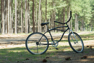 Bicycle in countryside