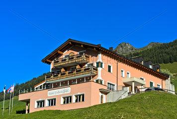 Hotel-Wellness Bueel  St. Antoenien  Praettigau  Graubuenden  Schweiz